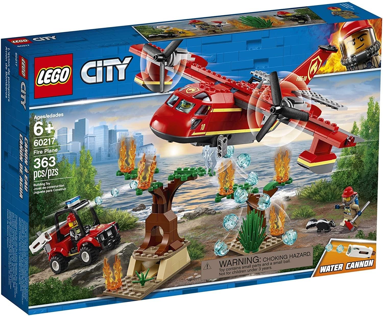 LEGO CITY - AVIAO DE COMBATE AO FOGO 363PCS