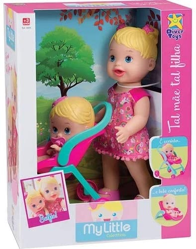 BONECA MY LITTLE COLLECTION TAL MAE DIVERTOYS