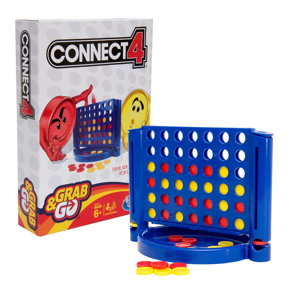 Jogo Connect 4 – Grab & Go – Hasbro