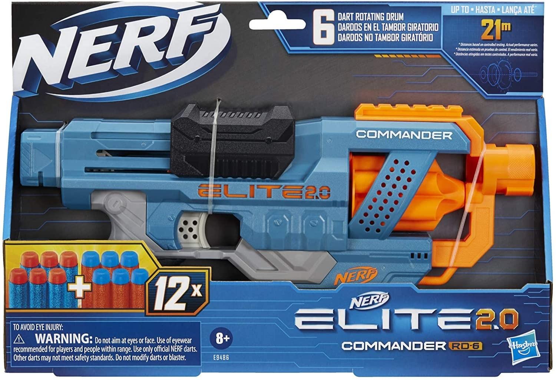 NERF ELITE 2.0 COMMANDER HASBRO