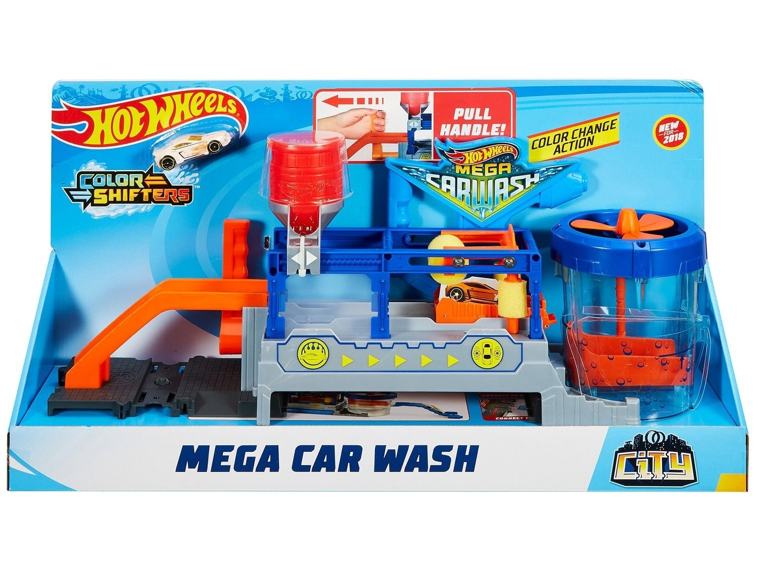 HOT WHEELS MEGA LAVA RÁPIDO MATTEL