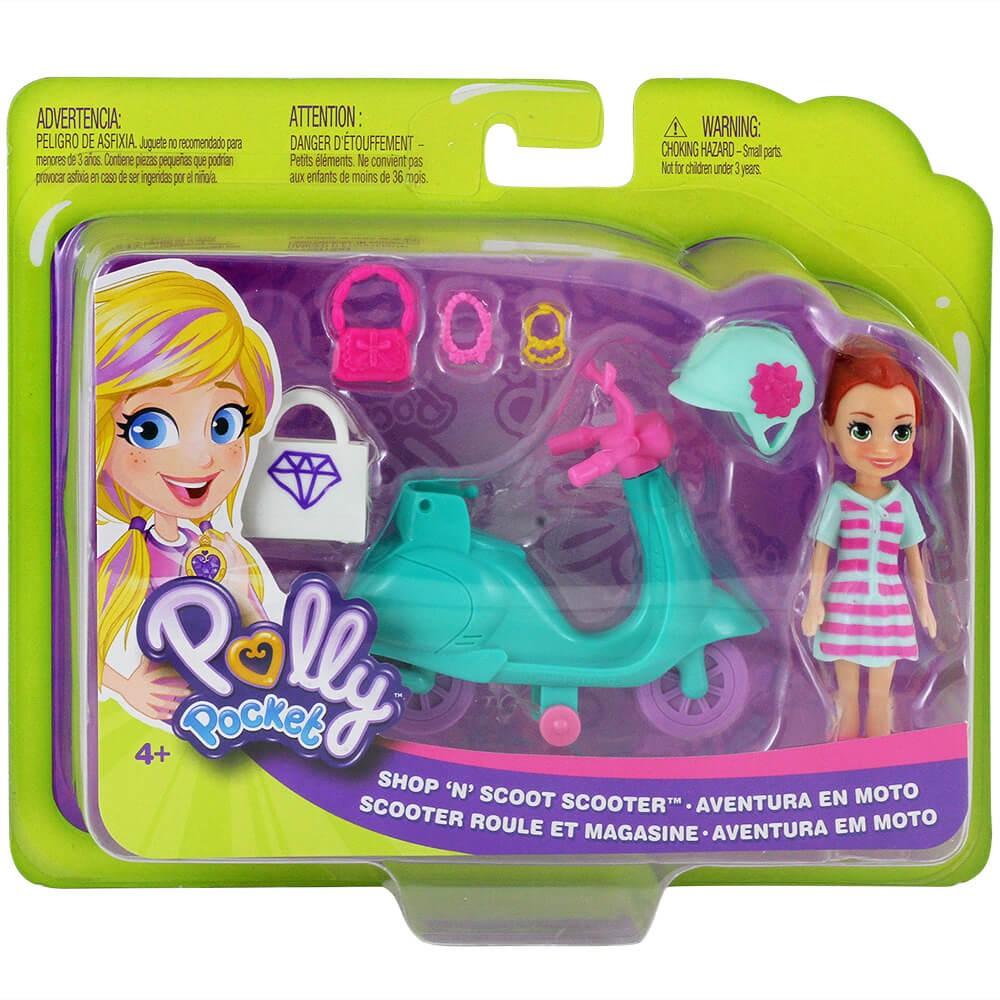 Polly Pocket Aventura em Moto - Mattel