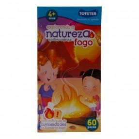 QUEBRA-CABEÇA EXPLORANDO A NATUREZA 60 peças – FOGO – TOYSTER