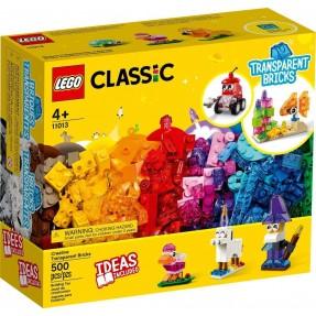 LEGO CLASSIC - PECAS TRANSPARENTES 500PCS