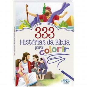 LIVRO 333 HISTORIAS DA BIBLIA PARA COLORIR TODOLIVRO
