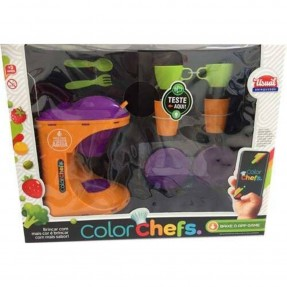 KIT CAFETEIRA COLOR CHEFS C/SOM E LUZ USUAL