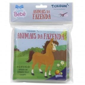 LIVRO DE BANHO TCHIBUM ANIMAIS DA FAZENDA TODOLIVRO