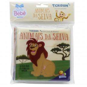 LIVRO DE BANHO TCHIBUM  ANIMAIS DA SELVA TODOLIVRO