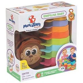 Empilha Baby Macaco Mercotoys