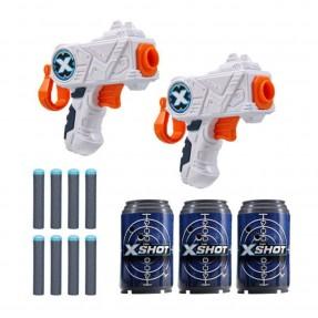 LANCADOR X SHOT 2X MICRO C/3 LATAS CANDIDE