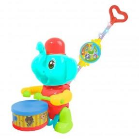 EMPURRA BABY MUSICAL ELEFANTE DM BRASIL