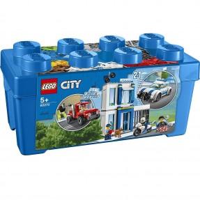 LEGO CITY - CAIXA DE PECAS DA POLICIA 301PCS