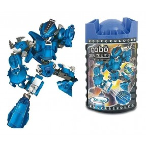 ROBO GUERREIRO BLUE ARMOR 65PCS XALINGO
