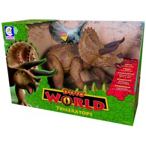 Dino World Tricerátops Cotiplás