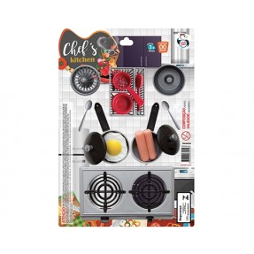 KIT CHEF KITCHEN GOURMET MED PICA PAU