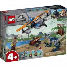 LEGO JURASSIC WORLD - VELOCIRAPTOR MISSAO DE RESGATE 101PCS