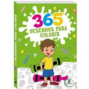 LIVRO 365 DESENHOS PARA COLORIR VERDE TODOLIVRO