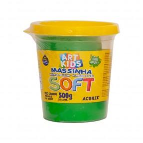 Art Kids Massinha Soft 500g – Verde – Acrilex