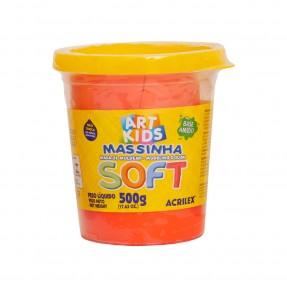 Art Kids Massinha Soft 500g – Vermelho – Acrilex