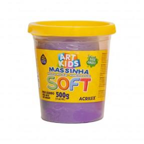 Art Kids Massinha Soft 500g – Violeta – Acrilex