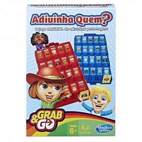 JOGO  GRAB&GO ADIVINHA QUEM HASBRO
