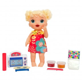 Baby Alive Meu Forninho Cabelo Loira - Hasbro