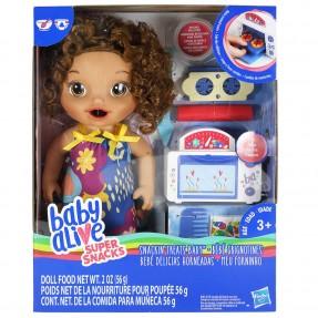 Baby Alive Meu Forninho Morena - Hasbro