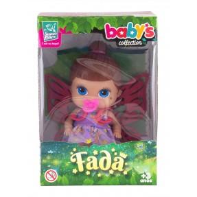 Boneca Baby's Collection Mini Fada Morena - Super Toys