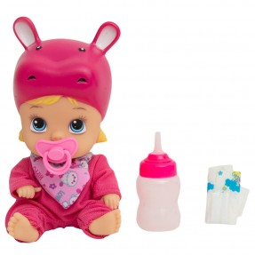 Boneca Little Dolls Soninho Faz Xixi Hipopótamo - Divertoys