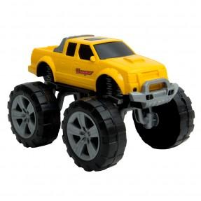 Caminhonete Trooper Amarelo – Usual Plastic Brinquedos – 179