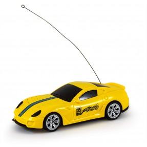 Carro de Controle Remoto Esportivo Amarelo - DM Toys