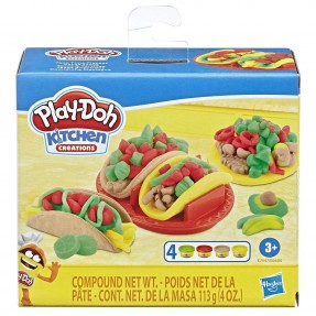 MASSINHA PLAY-DO KIT COMIDINHA MEXICANA HASBRO