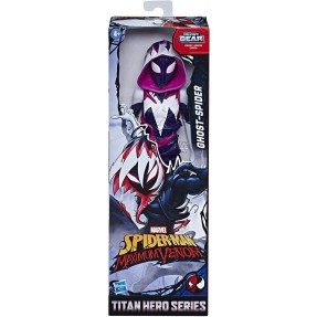 BONECO SPIDER MAN TITAN HERO GHOST SPIDER HASBRO