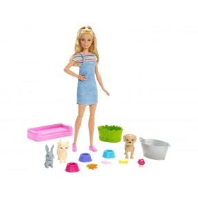 Boneca Barbie Banho de Cachorrinhos - Mattel