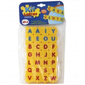 Kit Letras do Alfabeto 28 peças - Elka