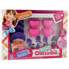 Kit Nosso Chazinho com 13 Peças - Zuca Toys