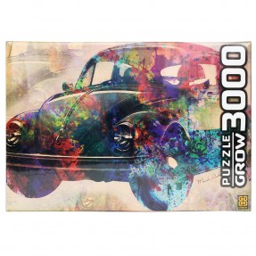 Quebra-Cabeça Vintage Car 3000 peças  - Grow