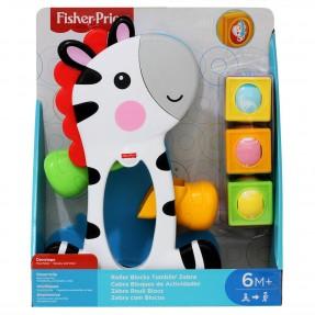 Zebra com Blocos - Fisher Price