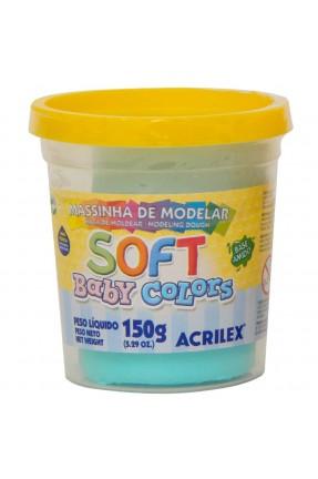 Massinha de Modelar Soft Baby Colors 150g – Azul Bebê – Acrilex