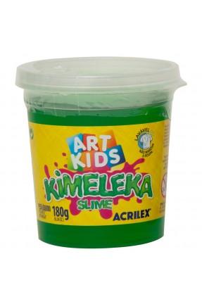 Kimeleka Slime Verde 180g – Acrilex