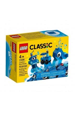 LEGO CLASSIC - PECAS AZUIS CRIATIVA 52PCS