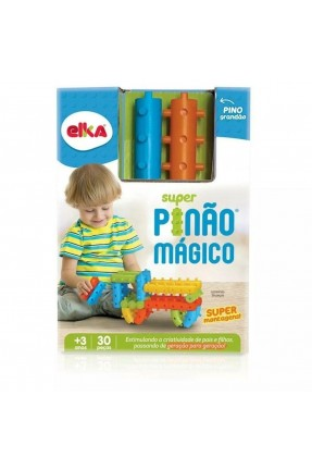 BLOCOS SUPER PINAO MAGICO 30PCS ELKA