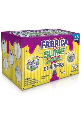 FABRICA DE SLIME KIMELEKA OLHINHOS ACRILEX