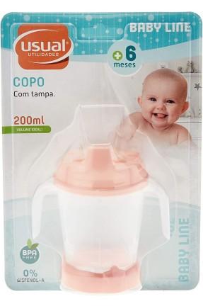COPO C/ BICO BABY MENINA USUAL