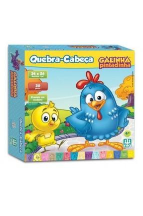 QUEBRA CABECA 30PCS GALINHA PINTADINHA NIG