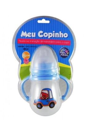 COPINHO 280ML AZUL PAIS E FILHOS