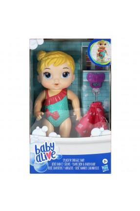 Baby Alive Bebê Banhos Carinhosos Loira - Hasbro