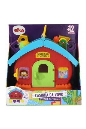 Casinha da Vovó Encaixe as Formas - Elka 1052