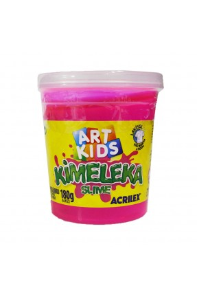 Kimeleka Slime Rosa 180g - Acrilex