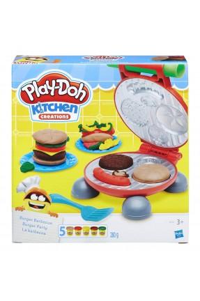 Massinha Play-Doh - Festa do Hambúrguer